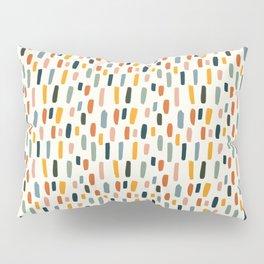 Rainbow Confetti Pattern Pillow Sham