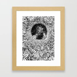 The Hole We Found In the Garden Framed Art Print