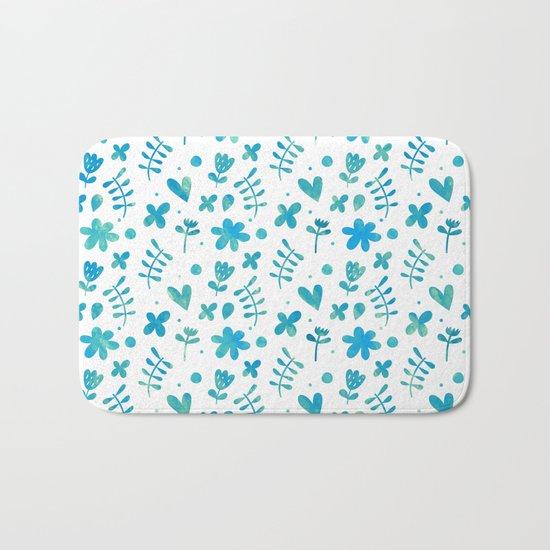 Colorful Lovely Pattern IX Bath Mat