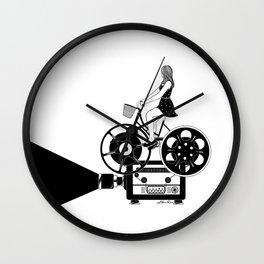 Cinema Paradiso Wall Clock