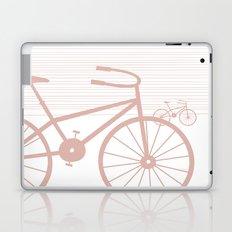 Pink Bike by Friztin Laptop & iPad Skin