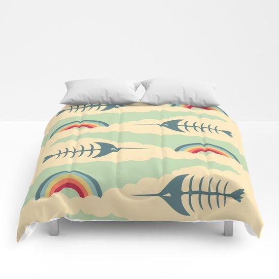bittersweet pattern Comforters