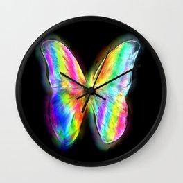 Butterfly Wings Wall Clock
