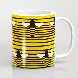 bees pentagram Coffee Mug
