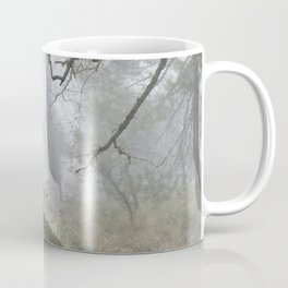 Foggy oaks. Into the woods.... Coffee Mug