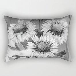 Sunflower Tas Rectangular Pillow