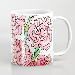 Carnations Coffee Mug