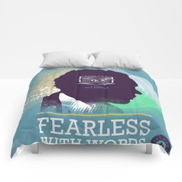 FEARLESS: With Words - L. Hughes Comforters