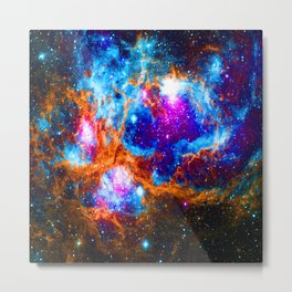 Cosmic Winter Wonderland Metal Print