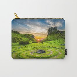 Fairytale Landscape, Isle of Skye, Scotland Carry-All Pouch