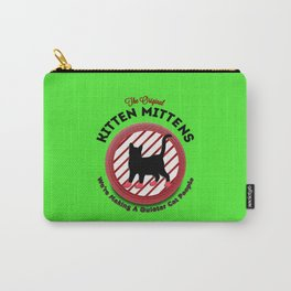 The Original Kitten Mittens Carry-All Pouch