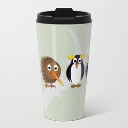 Feathered Friends Kiwi Style  Travel Mug