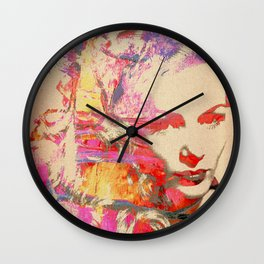 Divas - Veronica Lake Wall Clock