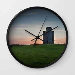 Sunset at Paxton's Tower Wall Clock