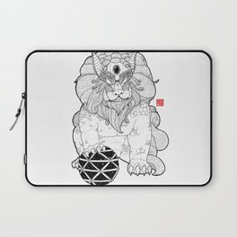 The First Shisa Laptop Sleeve