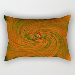 Digital Twirls Rectangular Pillow