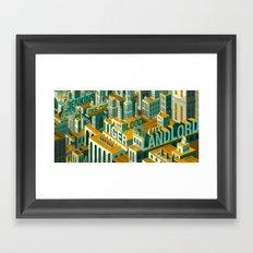 'Meme City' Framed Art Print