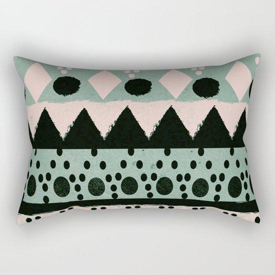 PASTEL NORDIC TRIBAL  Rectangular Pillow