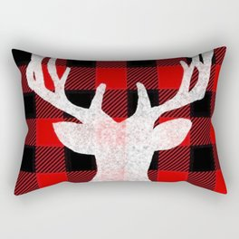 Deer Flannel Rectangular Pillow