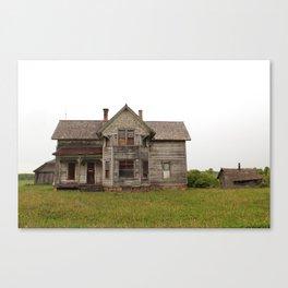 forgotten home Canvas Print