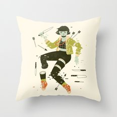 To Pieces Throw Pillow