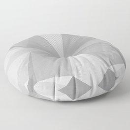 rock polygons Floor Pillow
