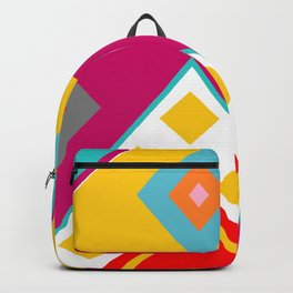 Mayan Print Backpack