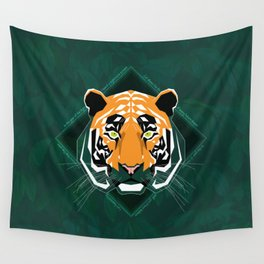 Tiger's day Wall Tapestry