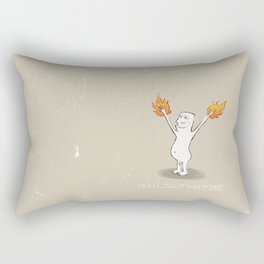 You Light My Fire Rectangular Pillow