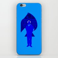karl iPhone & iPod Skins featuring Karl Stromberg by Vector Vectoria