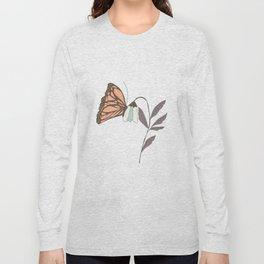 Monarch garden 004 Long Sleeve T-shirt