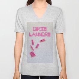 Dirt laundry Unisex V-Neck