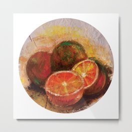 Frutas II (Fruits II) Metal Print
