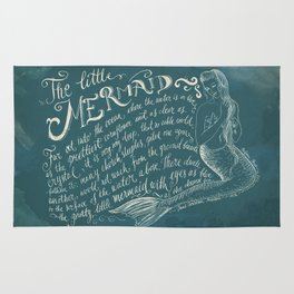 The Little Mermaid Rug