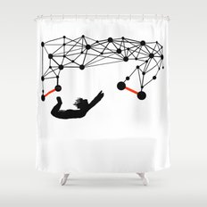the Trapeze Shower Curtain