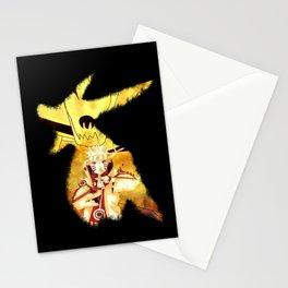 Naruto kurama Kyuubi 9 tails art Stationery Cards