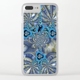 Filigrees and Spirals Clear iPhone Case