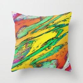 Shark spin 2 Throw Pillow