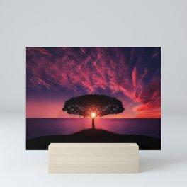 Sunset of Life Mini Art Print
