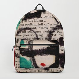 Girl With Hat 4 by Kathy Morton Stanion Backpack