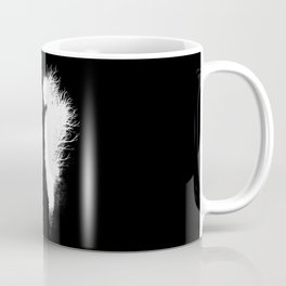 Transcending Duality (White on Black) Coffee Mug