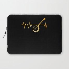 Banjo Heartbeat Laptop Sleeve