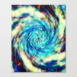 iDeal - Hyper PinWheel Canvas Print