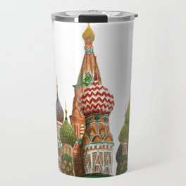 St. Basil's Cathedral - Moscow, Russia  Travel Mug