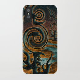 The Black Moon iPhone Case