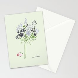 Simple spring bouquet Stationery Cards