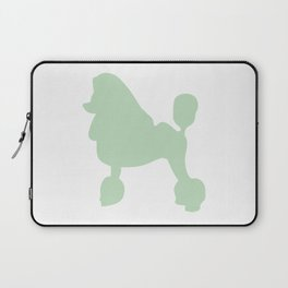 Poodle wall art print Laptop Sleeve