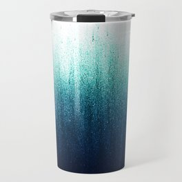 Teal Ombré Travel Mug