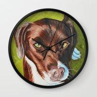 jasmine Wall Clocks featuring Jasmine by Lindsay Larremore Craige