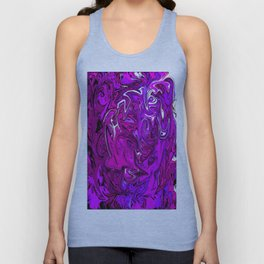 The Many Mysteries of Purple Unisex Tank Top